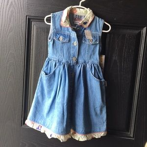 Vintage Denim Deadstock SF Blues Summer Dress